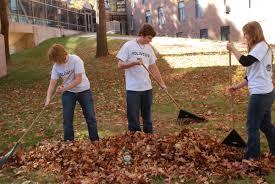 raking-leaves
